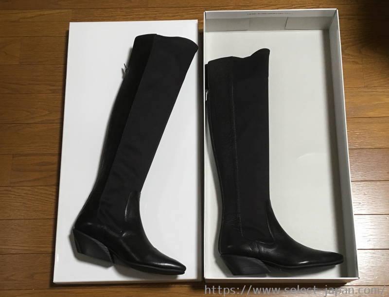 ラボキゴシ ワークス works ストレッチ ロングブーツ 靴 シューズ 日本製 made in japan