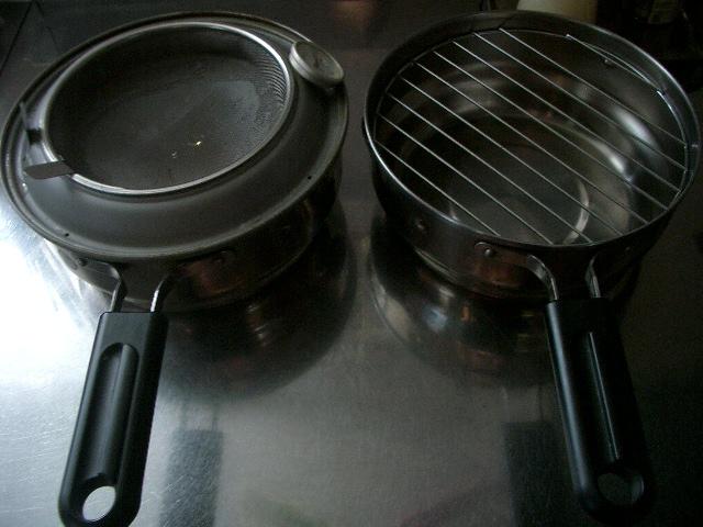 日本製オイルポットにもなる天ぷら鍋