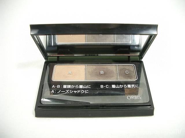 オルビス ORBIS ブレンドアイブロウコンパクト 日本製