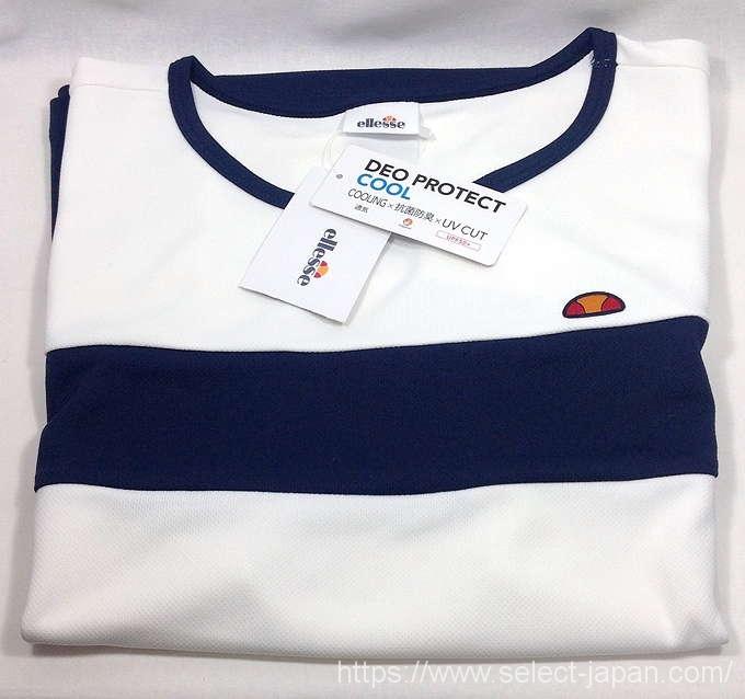 ellesse エレッセ Tシャツ 吸水速乾 UV 抗菌防臭 半袖 Tシャツ