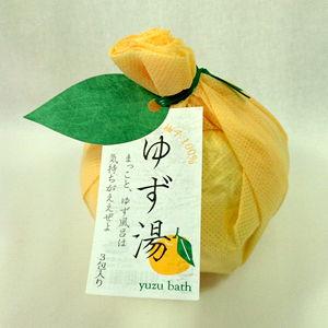 国産ゆず湯 柚子 100% 国産 made in japan 日本製 バスバッグ