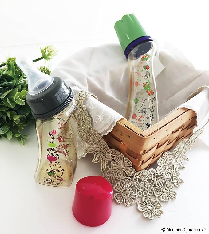 ムーミン 哺乳瓶 日本製 コラボ ドクターベッタ