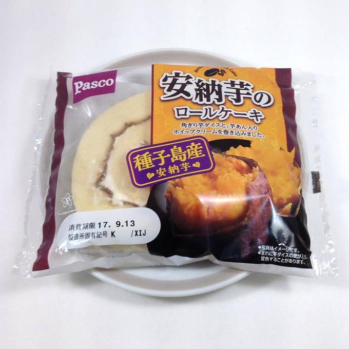 pasco パスコ 安納芋のロールケーキ