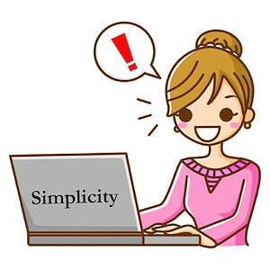 Simplicity カスタマイズ