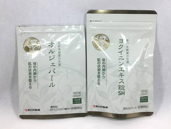 新日本製薬 ヨクイニンエキス錠SH