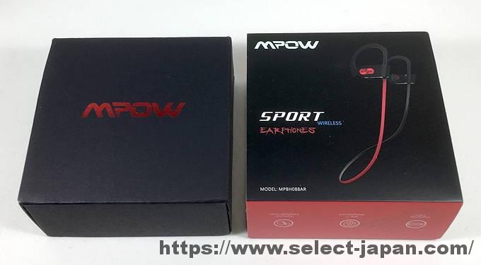 Mpow MP-BH088AR Bluetooth イヤホン ブルートゥースイヤホン