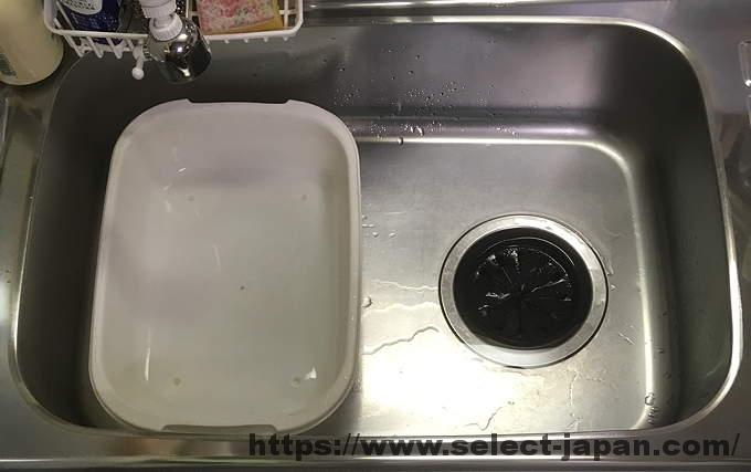 プラスチック製 洗い桶 100円ショップ ダイソー 日本製 made in japan