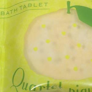 発砲タイプ 薬用入浴剤 ゆずの香り  ピクニックカルテット バスタブレット ゆず 日本製 made in japan
