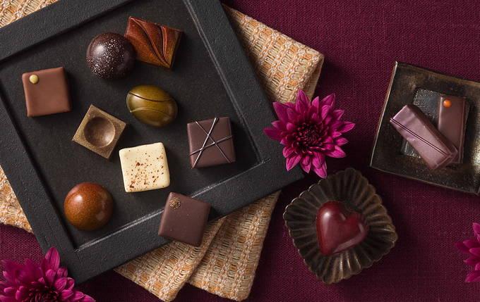セルリアンタワー東急ホテル バレンタインチョコレート2018 和 フレーバー 梅酒 山椒