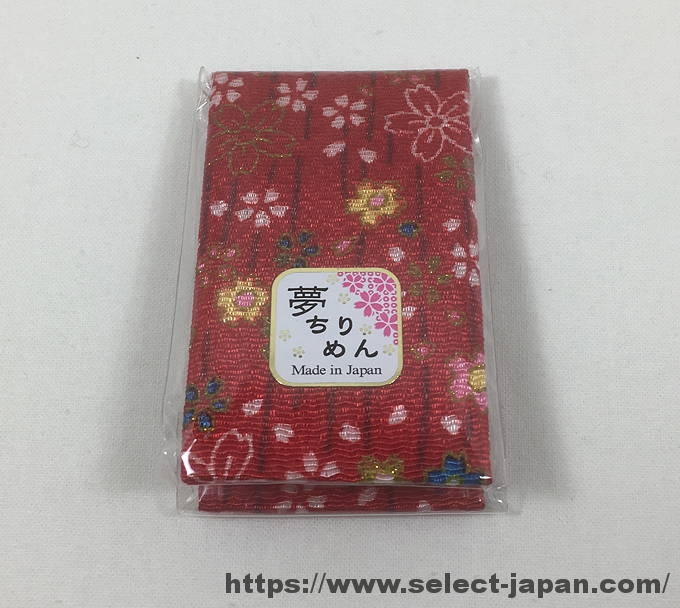 爪楊枝入れ ケース 携帯 ちりめん 鏡 日本製 made in japan