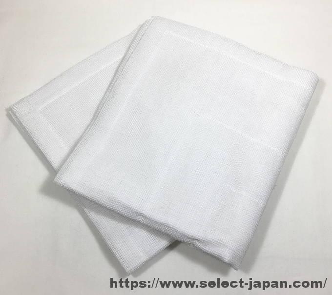 白雪ふきん 日本製 made in japan 蚊帳生地