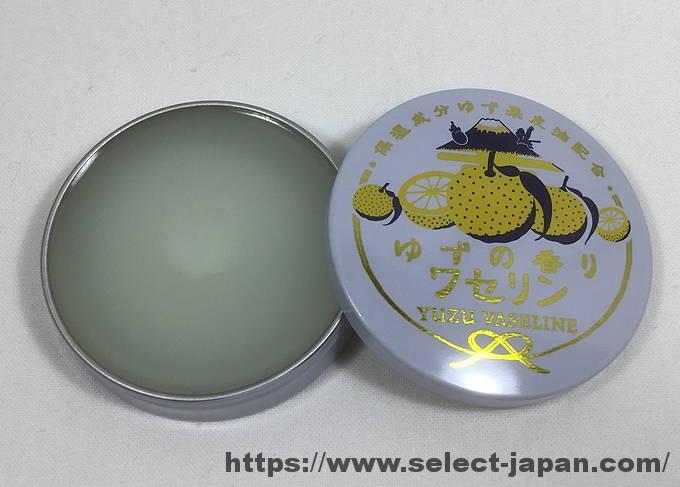 雪の元 ゆずの香り ワセリン 日本製 MADE IN JAPAN 保湿