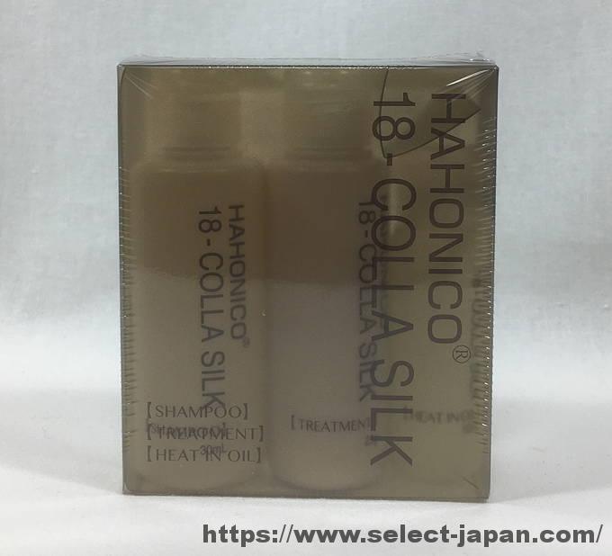 ハホニコ 18コラシルク シャンプー トリートメント 洗い流さないトリートメント 日本製 made in japan