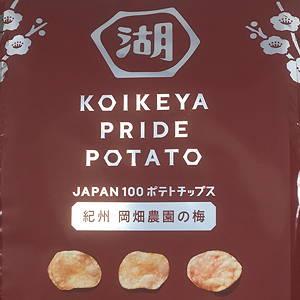 KOIKEYA PRIDE POTATO 手揚食感 紀州 岡畑農園の梅 コイケヤ プライドポテト