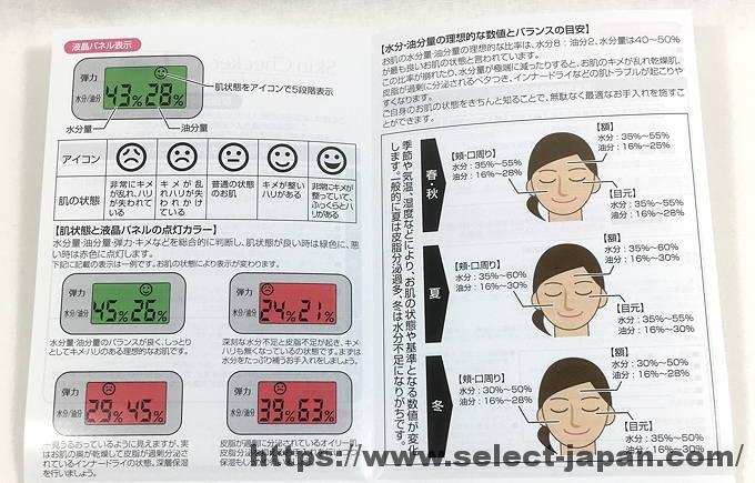 美ルル 肌チェッカー スキンチェッカー 中国製 made in china