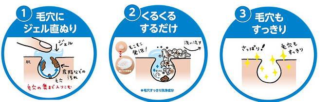 エテュセ ジェルムースN 日本製 made in japan 毛穴 皮脂汚れ ホワイトクレイ 重曹
