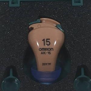オムロン OMRON イヤメイトデジタル 補聴器 AK-15 日本製 made in japan