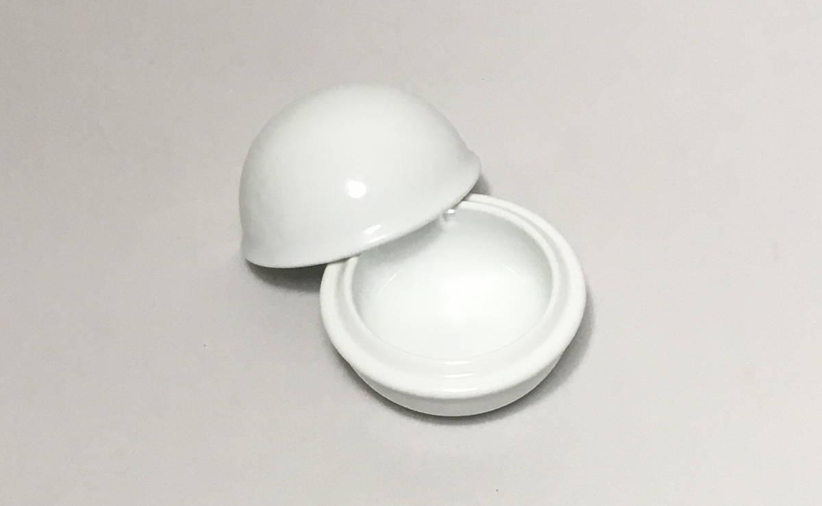 無印 MUJI 白磁 陶器 小物入れ 蓋つき ふた 日本製 made in japan