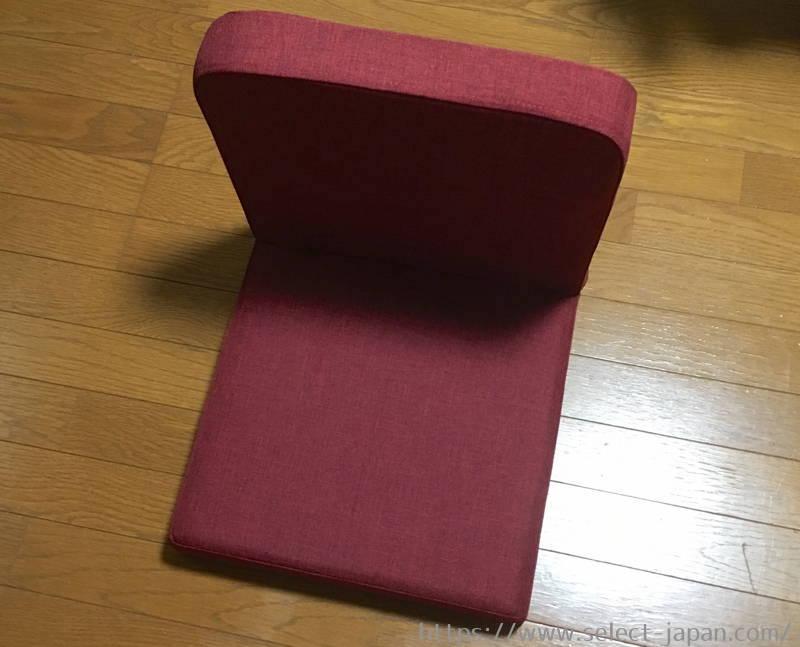 背もたれ 背付き スツール 椅子 コンパクト 折りたためる 武田コーポレーション 座椅子