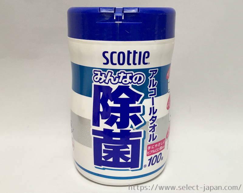 日本製紙 スコッティ 除菌 アルコール ウェットティッシュ 日本製 made in japan