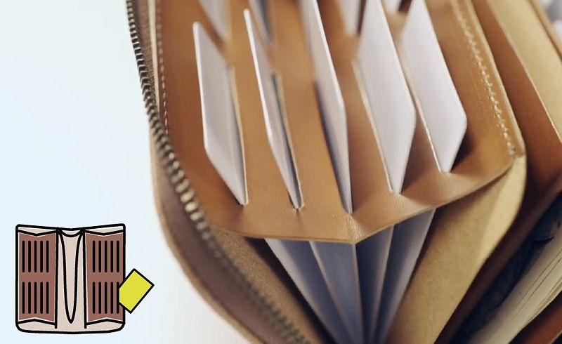 RUBATO&CO. ルバートアンドコー 長財布 栃木レザー カードが立つ 日本製 made in japan 大容量