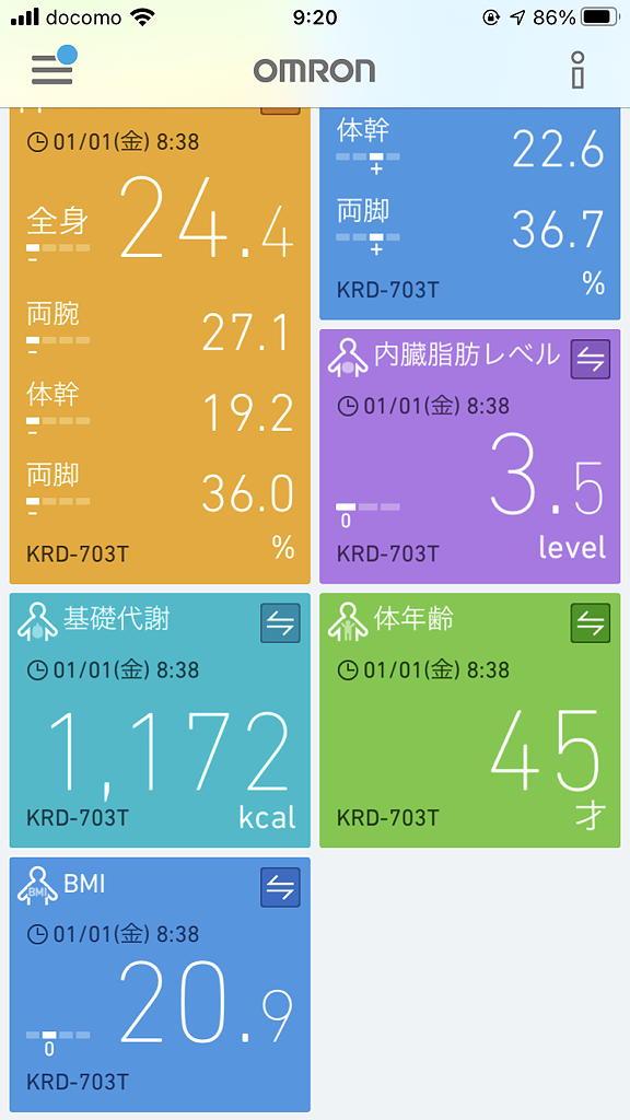 オムロン 体組成計 体重計 カラダスキャン OMRON KaradaScan 703T made in china 中国製 ダイエット 体年齢