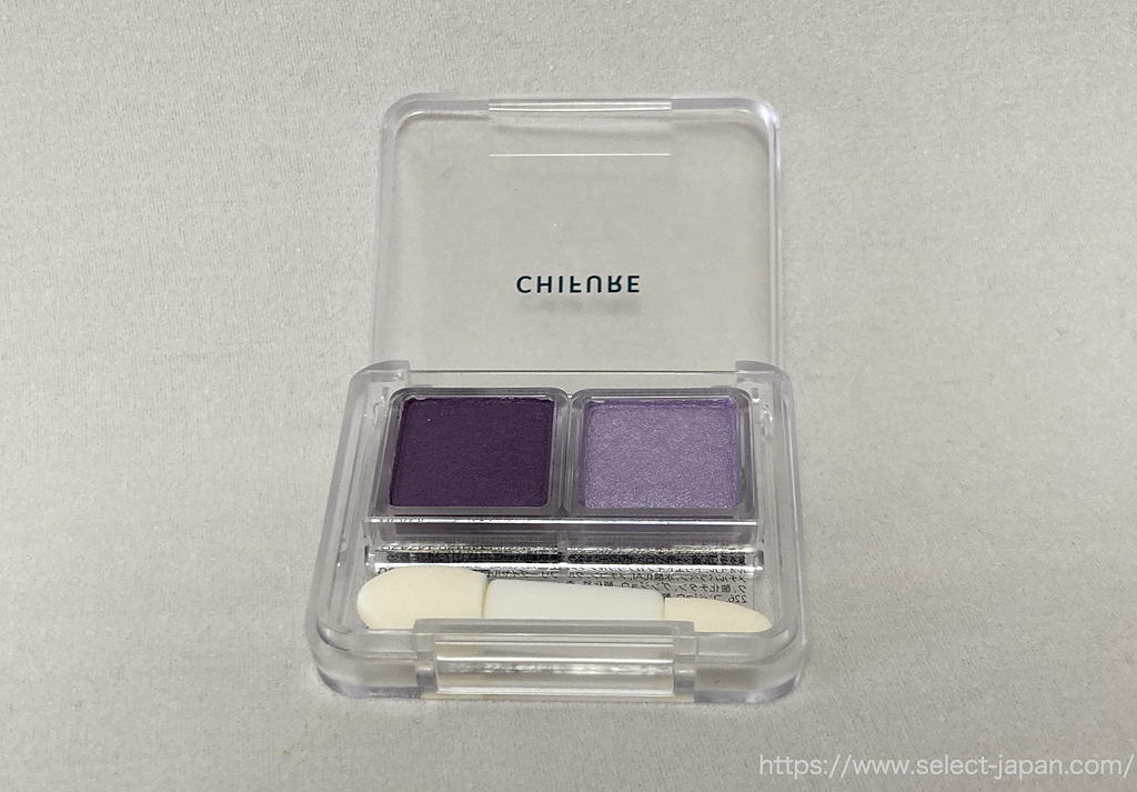 ちふれ ツインカラー アイシャドウ 紫 パープル系 35 日本製 made in japan